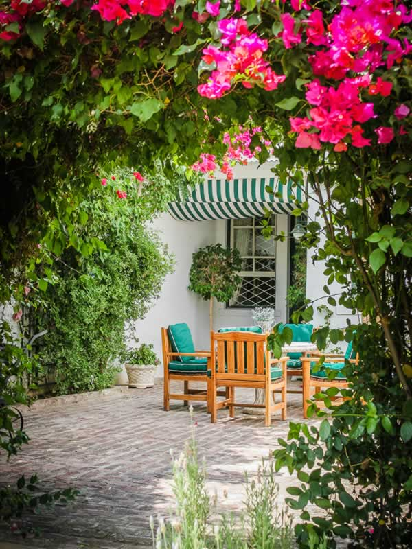 Graaff Reinet Guest House - Garden